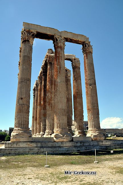 Храм зевса олимпийского олимпейон