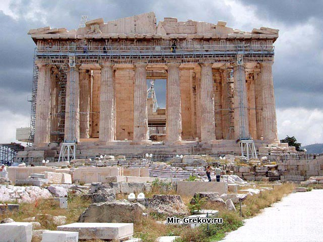 Легенды про древнегреческий акропль